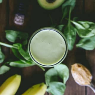 peanut butter banana avocado smoothie