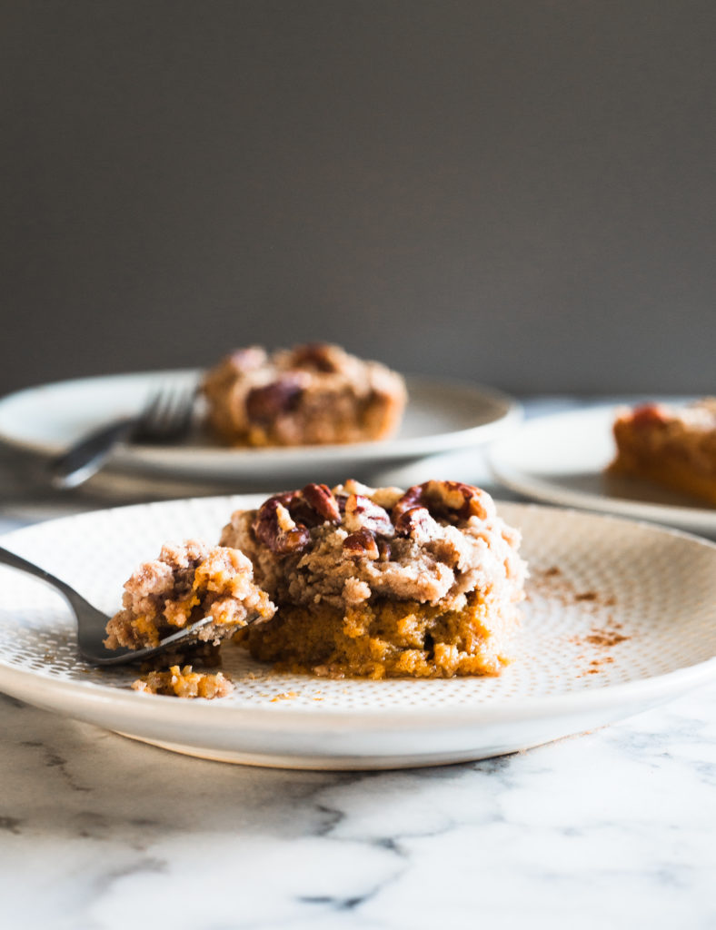 Everyone will want the recipe for this Pumpkin Dump Cake. Perfect for any fall-inspired occasion!