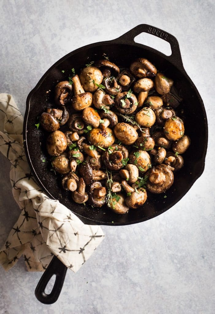 Button Mushrooms Recipe