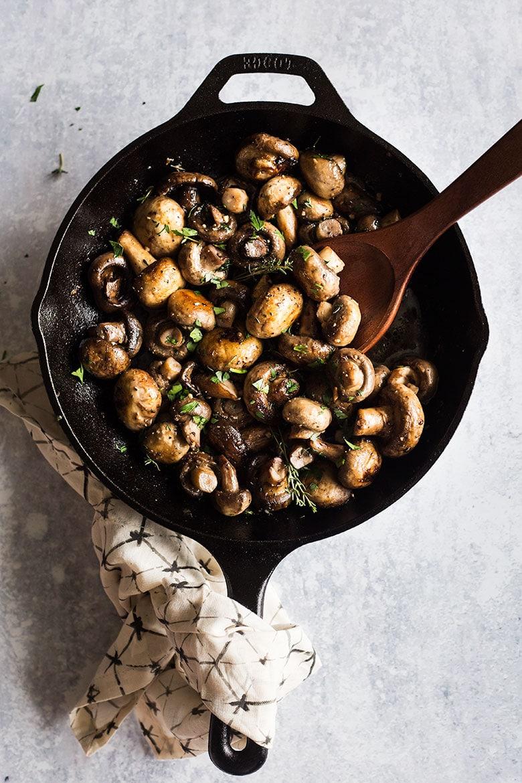 Button Mushrooms Recipe